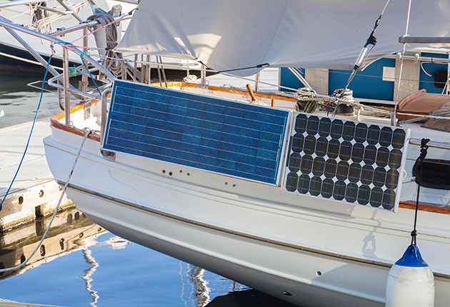 Lithium batteries are great for powering solar