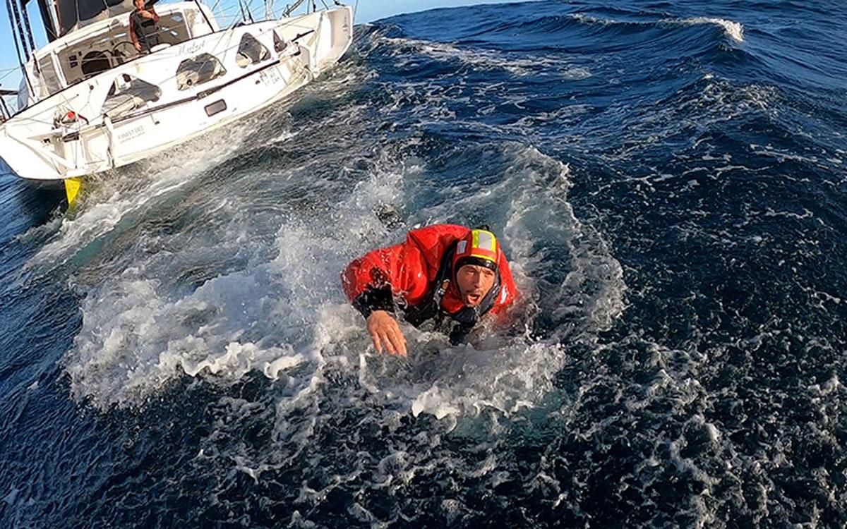 Vendee Globe Kevin Escoffier rescue