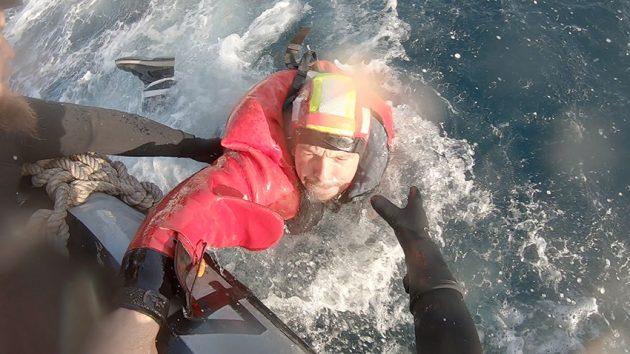 Kevin Escoffier rescue