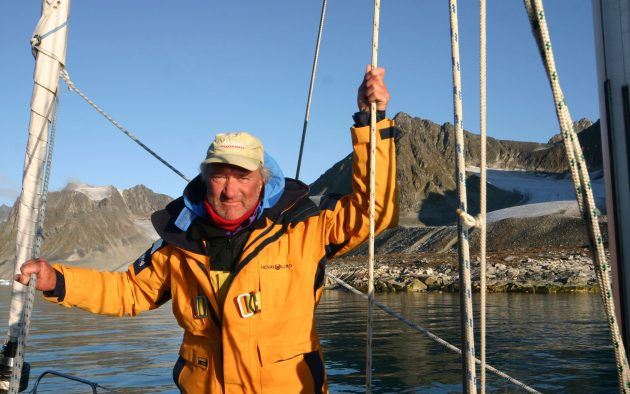 Brian Black sailing in Greenland