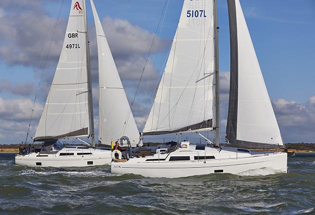 Hanse 348 et Hanse 418