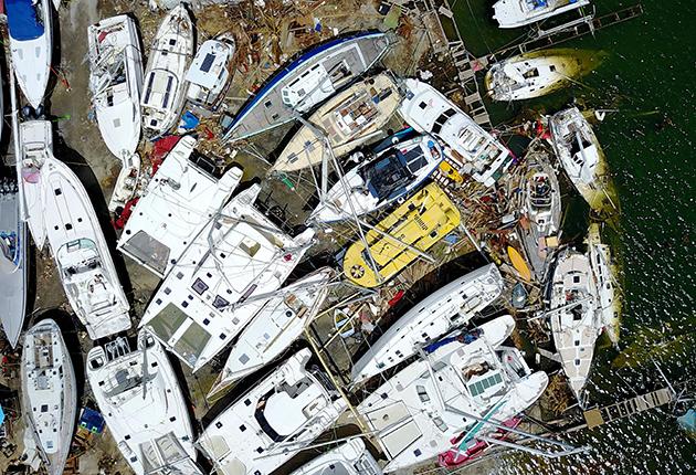 Hurricane Irma caused devastation in St Martin