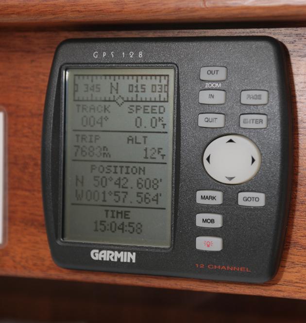 Electronic navigation aid