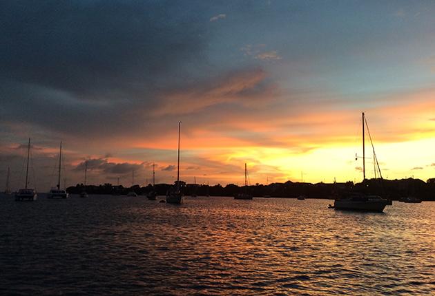 Cruisers converge on Prickly Bay in Grenada every year for hurricane season