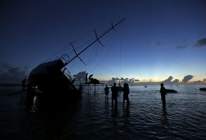 The grounding of Team Vestas Wind was partly down to an over reliance on electronic navigation aids