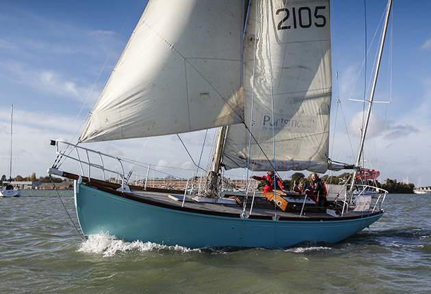 Lively Lady sailing in Portsmouth