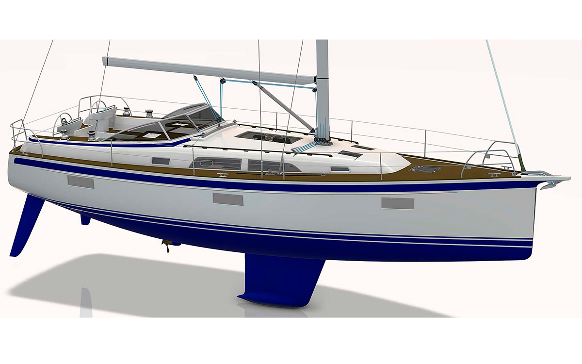 Hallberg-Rassy 400 soon to be launched