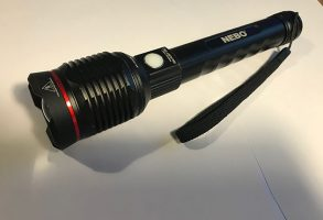 The TeamO Marine emergency torch is one of the few LED searchlights on the market with over 1,000 lumen