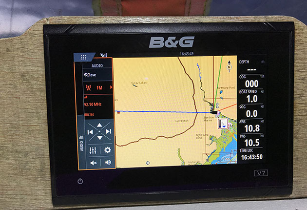 NMEA 2000 connectivity lets you control music via your chartplotter on deck