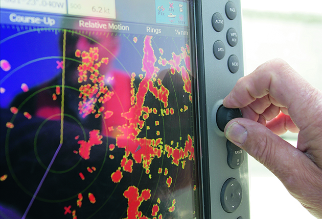 Remind yourself how to use gain, EBL and VRM on radar as part of your shakedown skills