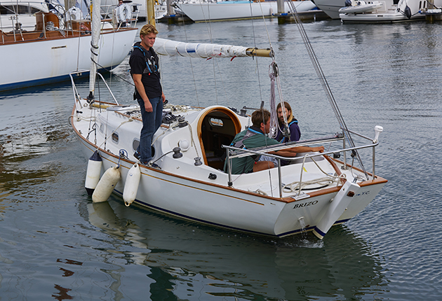 As part of your shakedown drills, remind yourself which way your boat likes to turn in a tight spot.