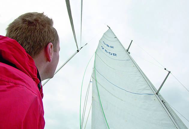 Boat rig check: If weather helm is an issue, look up at your leech tension
