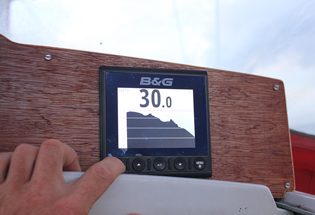 Calibrate depth for worry-free anchoring