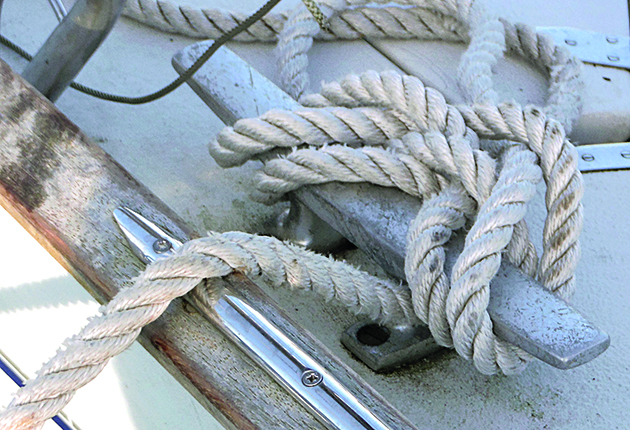 Choose rope with a bit of give for mooring