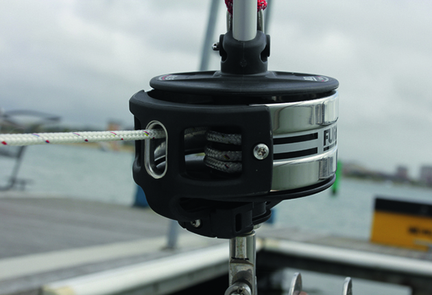 Check the furling drum when doing a boat rig check