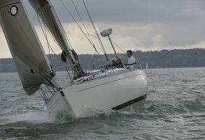If your rudder failed on a lee shore, how would you react?