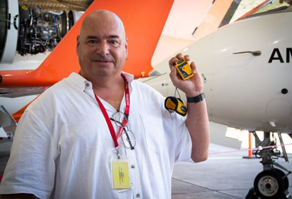 Without his Ocean Signal rescueME PLB1, Nigel Fox would never have been found. Credit: AMSA