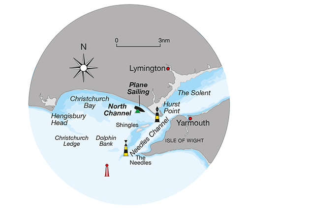 Chart of the Solent