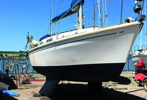 Older boats, like this Westerly Konsort, offer a lot of yacht for your money, particularly for first-time buyers. Credit: Alun Jones