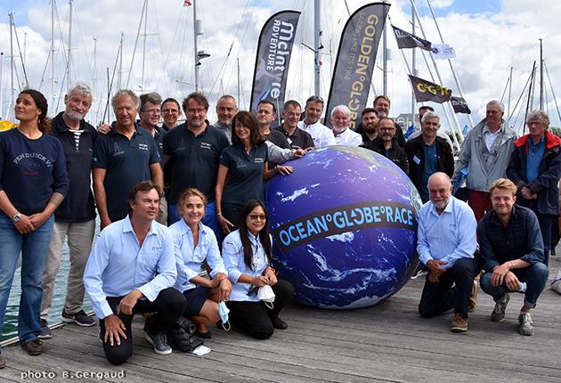 The Ocean Globe teams and race committee
