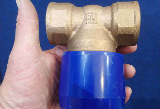An Alex valve: One of the latest solutions that has a bronze body and a composite valve