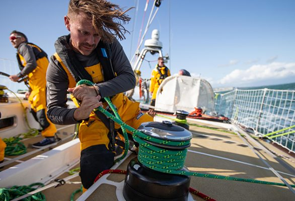 Up to 50 young people aged between 18-35 are being invited to apply for a place on the sailing programme being run by the Clipper Race and Our Isles and Oceans. Credit: Matthew Dickens/imagecomms