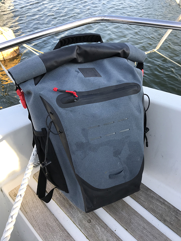 Waterproof backpack tested: Red Paddle 30 litre