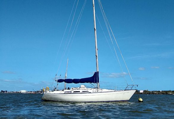 Sail Britain's expedition yacht is a Sigma 41
