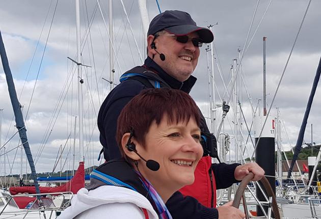 Boat intercom system - Crew-Talk Plus