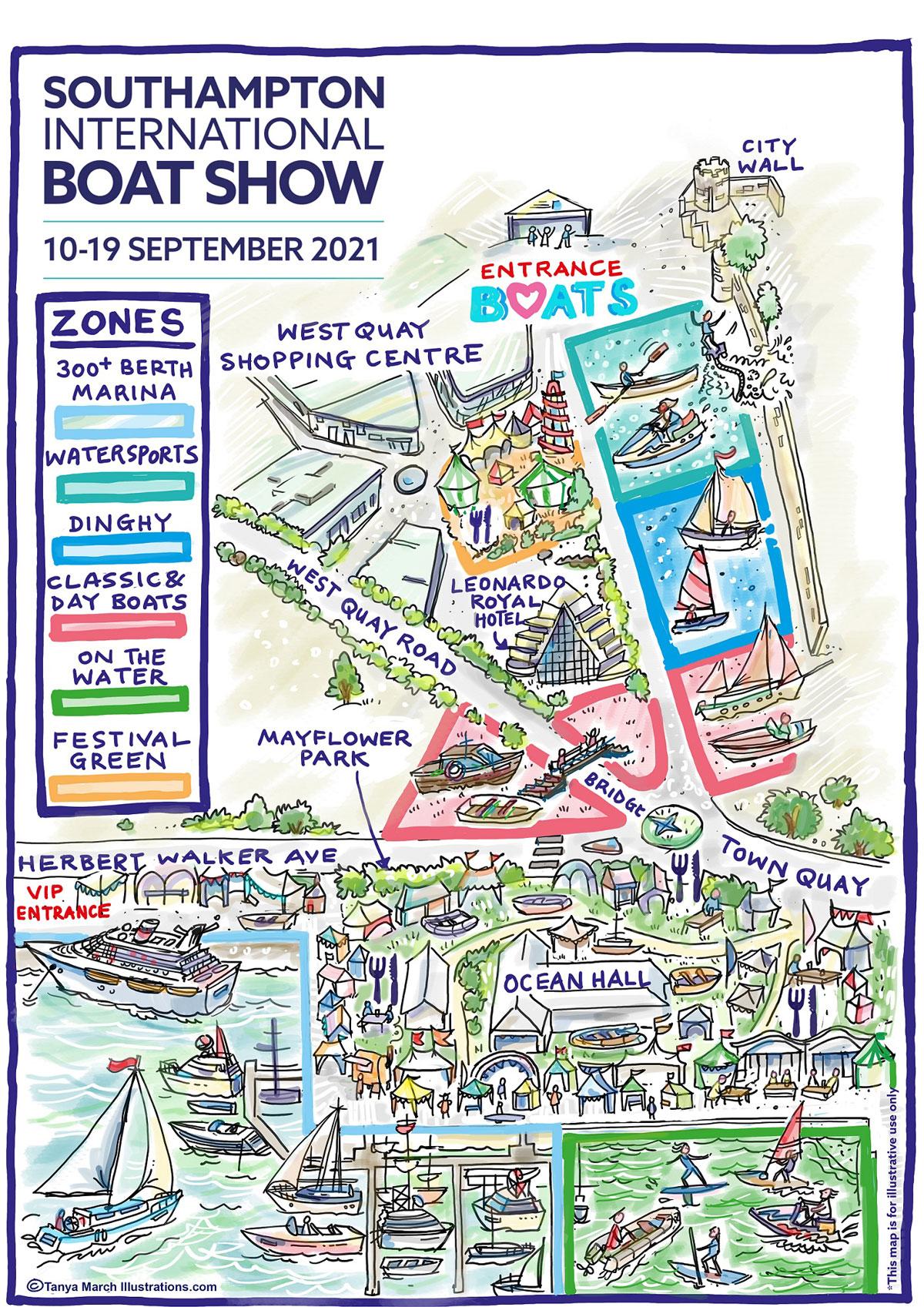 Southampton_Boat_Show-Map_2021