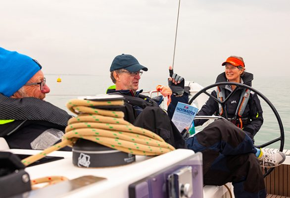 Although accomplished sailors, Liz and Mark found their rusty knowledge was hampering their cruising enjoyment. The Yachtmaster theory course revealed a number of areas in need of a refresher. Credit: David Harding