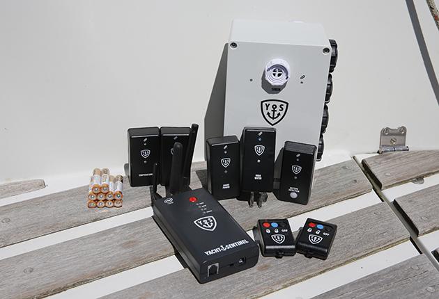 Yacht Sentiel YS6 remote boat monitoring system