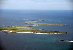 The Monach Islands in the Outer Hebrides