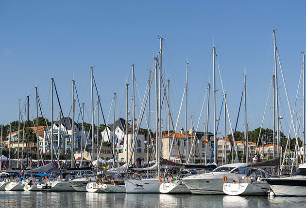 Boats kept in the EU, including Bourgenay, France, will not be eligible for RGR if they have never been in the UK during current ownership. Credit: Getty