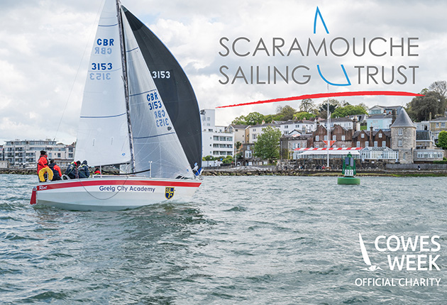 Scaramouche Sailing Trust is the official charity of the 2021 Cowes Week