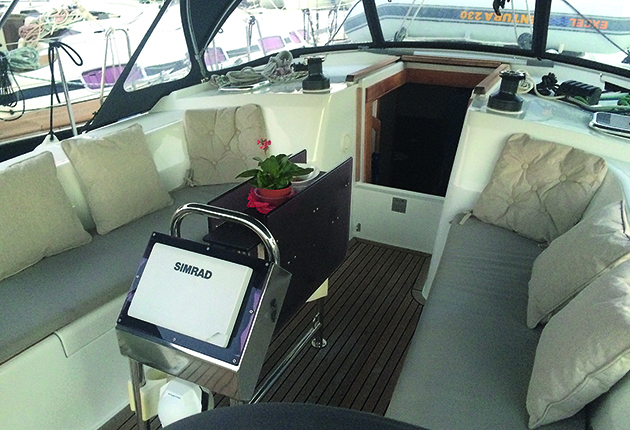 Cockpit du Hanse 400