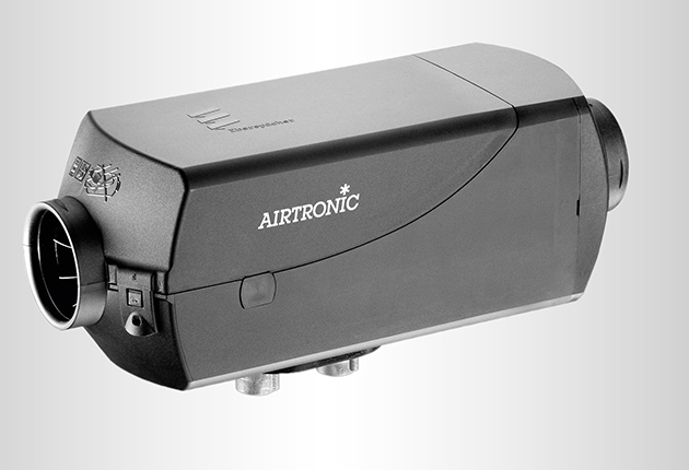 Eberspacher's updated Airtronic diesel heaters range include features like a brushless fan motor for more efficient heating