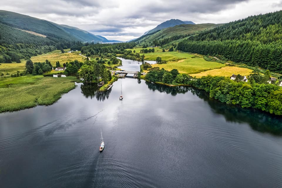 Falanda at the end of Loch Lochy