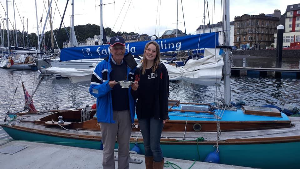 Katie McCabe and Murdoch McGregor