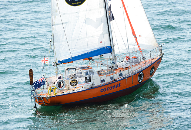 Mark Sinclair plans to use Coppercoat to prevent the barnacle growth which slowed him down in the 2018 Golden Globe Race