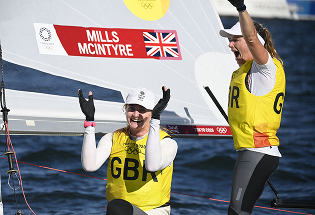 The RYA wants the British Sailing Team to achieve a 50% reduction in emissions and net zero by 2030.