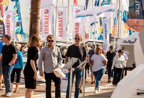 The 2021 Southampton Boat Show ran from 10-19 September. Credit: mark@nwmsltd.com