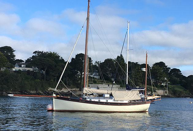 A Heard 35 - it's hull shape