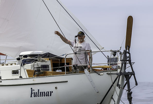 Pat Lawless is the only Irish skipper taking part in the 2022 Golden Globe Race