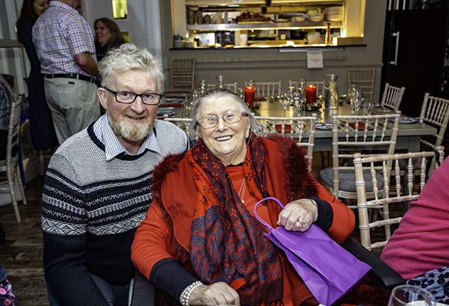 Pat Lawless and his mother Nancy