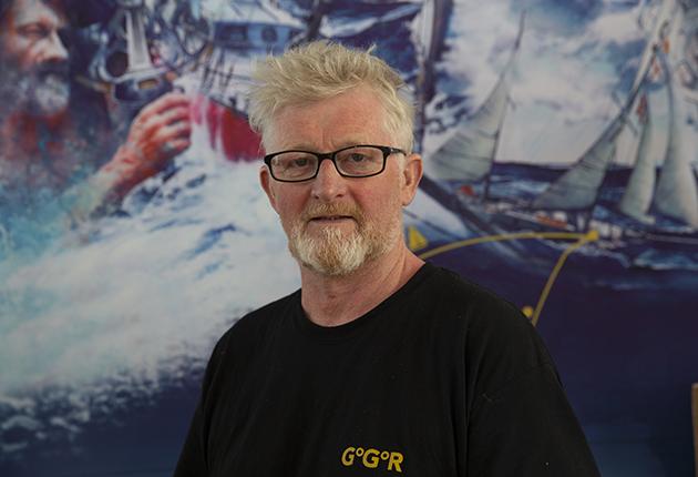 Irish Golden Globe Race 2022 skipper, Pat Lawless
