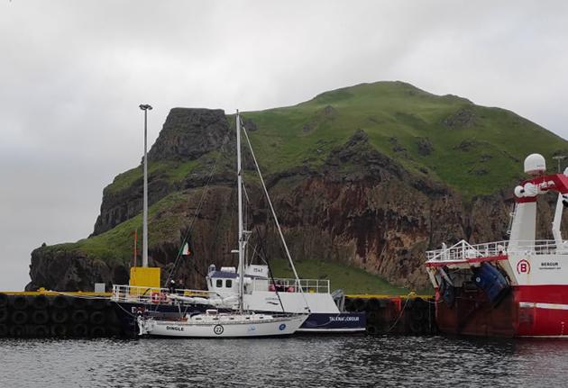 A Saltram Saga 36 in port
