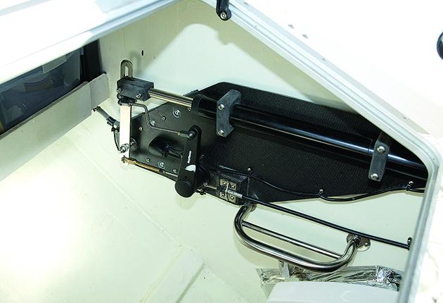 Essai de bateau neuf Hunter HC50