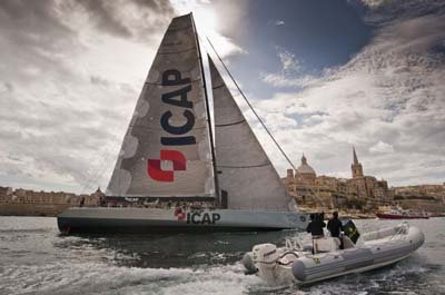 ICAP Leopard finishes Middle Sea Race