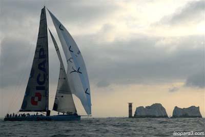ICAP Leopard sails past Needles